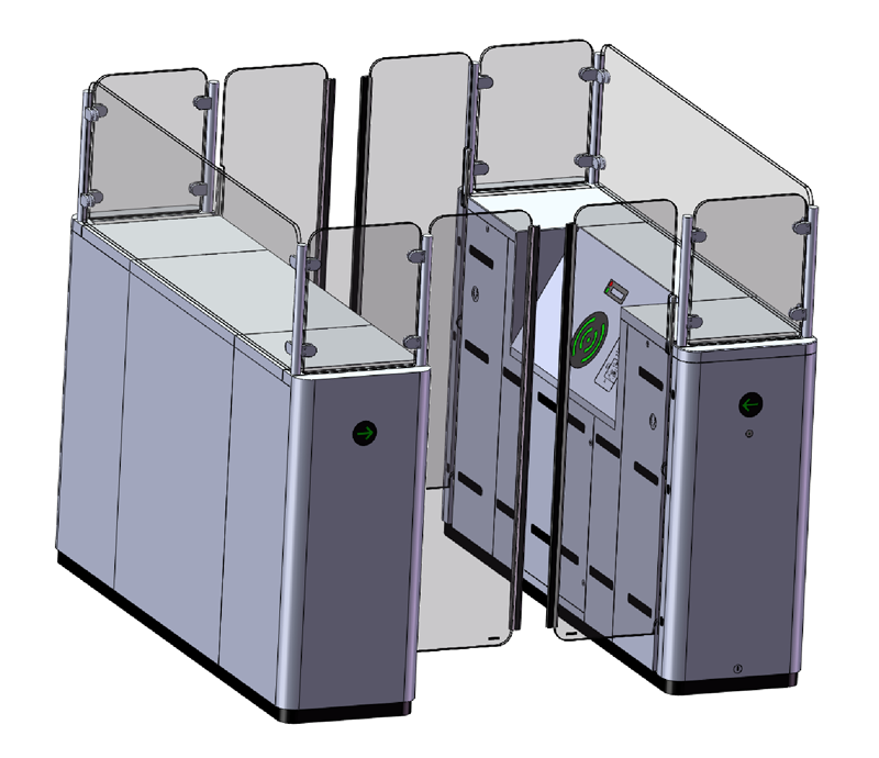 High Security Booth 900 Product Range Klein Access Design